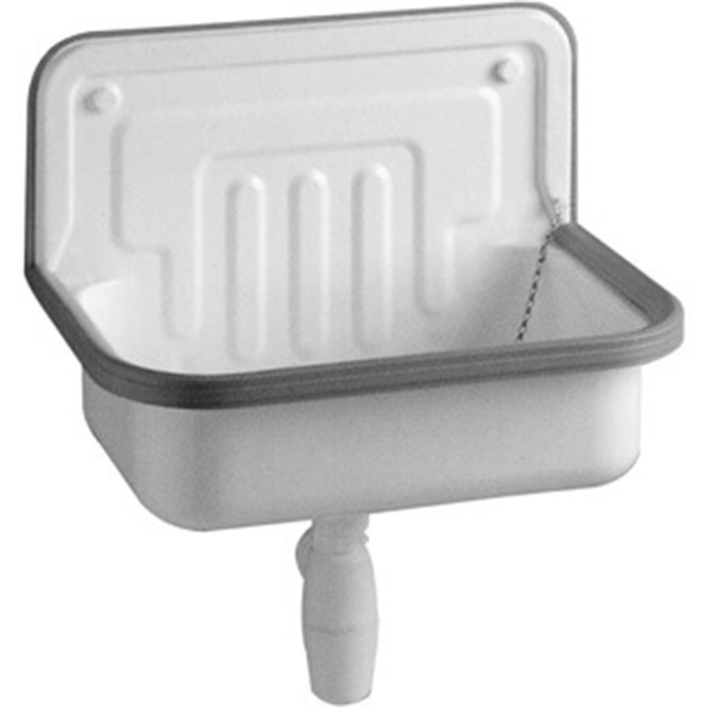 Alape Sink AG. Steel Form 505, 50.5 x 33.5 cm, Set of 1, White 1100000000 113541305