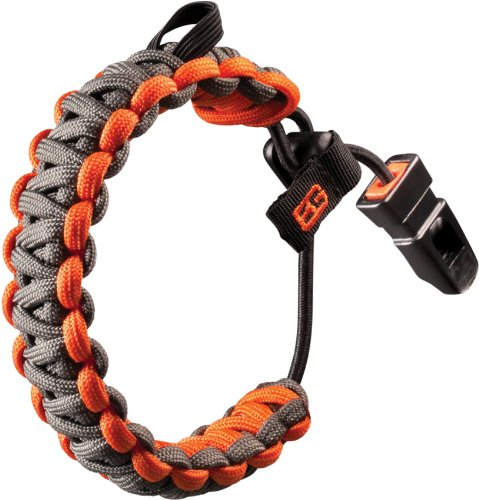 Functional as both a critical survival tool and a fashion statement, the Survival Bracelet includes 12 feet of paracord in a stylish double cobra weave pattern. With truly one-hand size adjustability and a custom made survival whistle, the Be...