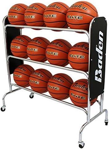 Baden Basketball Rack de Acero (12 Pelotas): Amazon.es: Deportes y ...