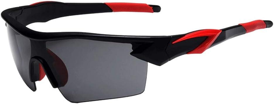 Gafas de sol Deportivas con lentes Polarizadas y Espejo para Ciclismo MTB Running –Gafas de Bicicleta UV 400 con Lentes, adecuadas para Ciclismo Gafas béisbol Pesca esquí Correr Conducir Gafas: Amazon.es: Deportes