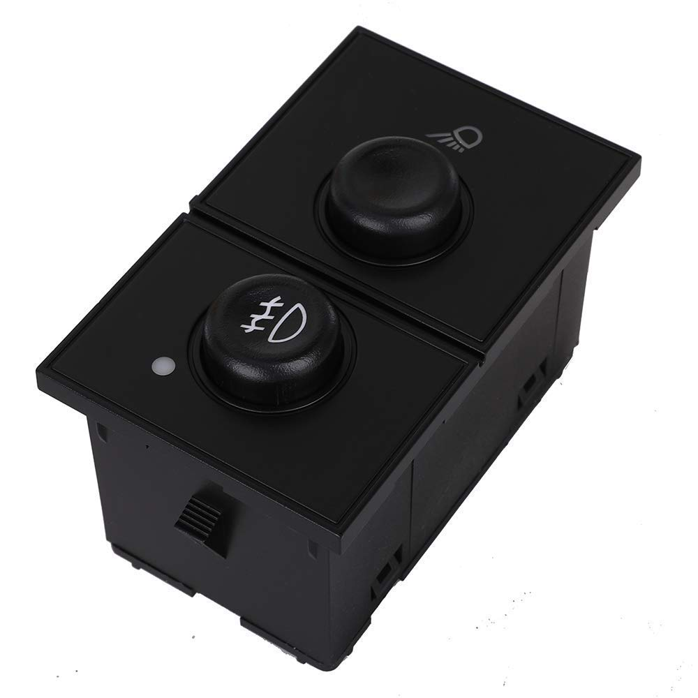 Fog Light Switch /& Cargo Lamp Switch for 2003-2007 Cadillac Escalade /& Chevy Avalanche Silverado Suburban Tahoe /& GMC Sierra Yukon Replace # 15143597