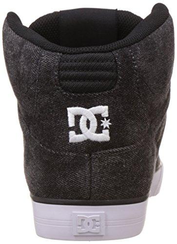 DC Spartan High WC TX Se, Sneaker Alte Uomo Nero (Black Acid - Lkd)