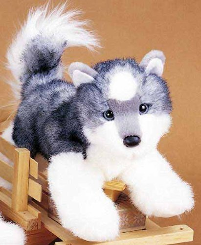 Plush Stuffed Animal: Siberian Husky