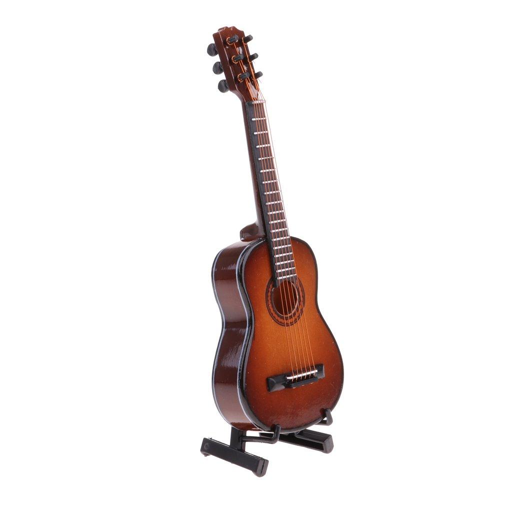 Modelo De Guitarra De Madera Escala