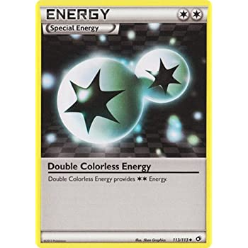 Pokemon - Double Colorless energy (113/113) - Legendary Treasures