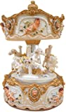 """MusicBox Kingdom 14235 170 mm Caja de música de juego Carrusel """"loreley"""""""