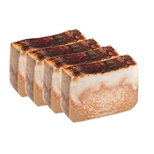 Bay Rum Bar Soap Bar Made with Beer (Set of 4 – 4 Oz)- Handmade Organic with Essential Oils. Natural Body Soap Is Also a Shampoo Bar for Hair and Skin…