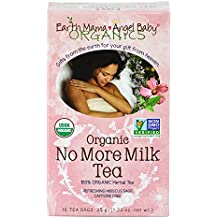 Organic No More Milk Tea for Weaning from Breastmilk, 16 Teabags/Box, Pack of 3