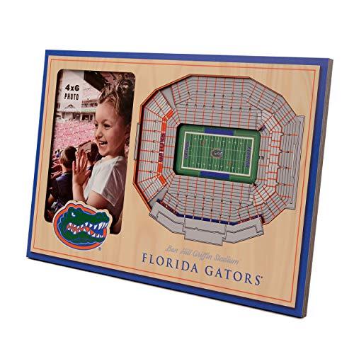 (NCAA Florida Gators 3D StadiumViews Picture Frame)