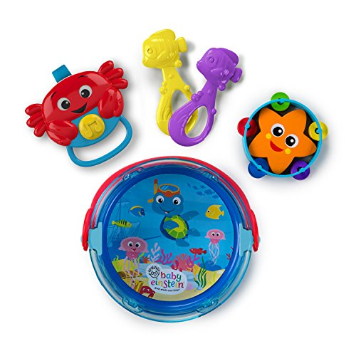 Baby Einstein Music of The Seas Drum Set (Little Girl Drum Set)