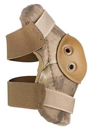 Review ALTA 53010.18 AltaFLEX Elbow Protector Pad, A-TACS AU Cordura Nylon Fabric, AltaGrip Fastening, Flexible Cap, Round, Coyote