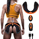 SHENGMI ABS Stimulator Hips Trainer,Electronic Backside Muscle Toner,Smart Wearable Buttock Toner Trainer