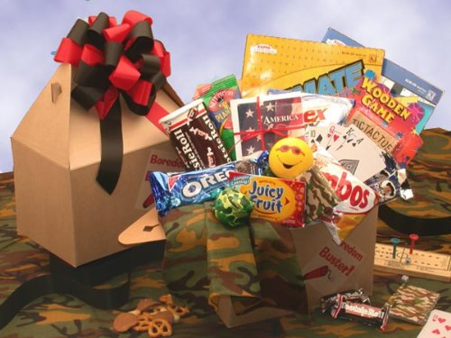 Boredom Buster Care Package - Great Easter or Valentines Day Gift Idea for College Kids -Medium
