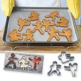 Ninjabread Men Cookie Cutters