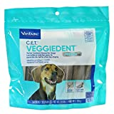Virbac C.E.T. VeggieDent FR3SH Tartar Control Chews For Dogs, Medium