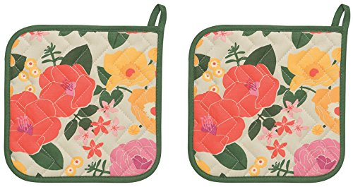 Now Designs Basic Potholders Blossom
