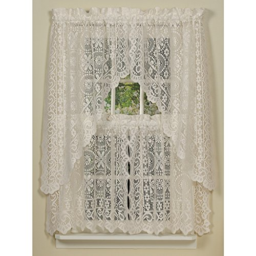 Hopewell Lace Kitchen Curtain - 24