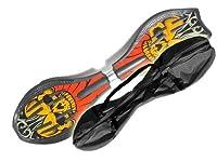 MAXOfit Waveboard Pro Close XL bis 110 kg mit Tasche, crazy devil, 89x22x10,...