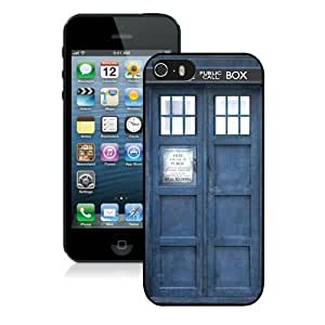 Hot Sale iPhone 5 5S Screen Case ,Doctor Who Black iPhone 5 5S Cover Unique And Popular Designed Phone Case