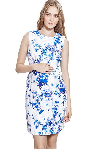 Women Pregnant Maternity and Nursing Dress Multicolor - 9