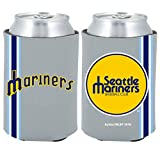 Seattle Mariners 2-PACK CAN Retro THROWBACK Koozie Neoprene Holder Cooler Coolie Baseball