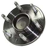 2WD Only Detroit Axle - New Front Driver or Passenger Side Wheel Hub and Bearing Assembly for - 2WD Tahoe, Silverado 1500, Sierra 1500 - 6-Lug
