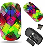 MSD Wireless Mouse Travel 2.4G Wireless Mice with USB Receiver, Noiseless and Silent Click with 1000 DPI for notebook, pc, laptop, computer, mac book design 20006234 Futuristic Background as a Network