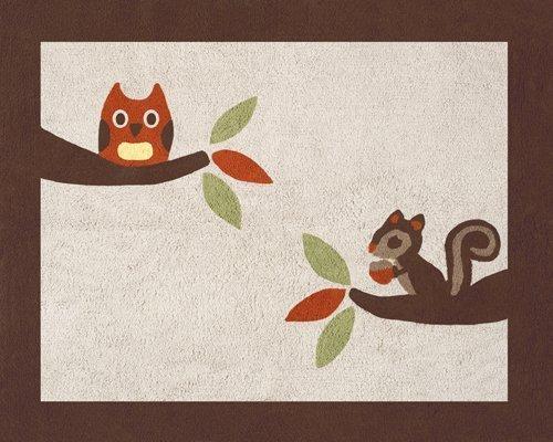 Sweet Jojo Designs Forest Friends Accent Floor Rug