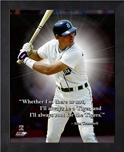 Alan Trammell Detroit Tigers ProQuotes Photo (Size: 12