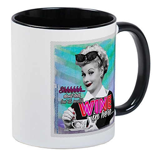 CafePress I Love Lucy: Wine Mug Unique Coffee Mug, Coffee Cup