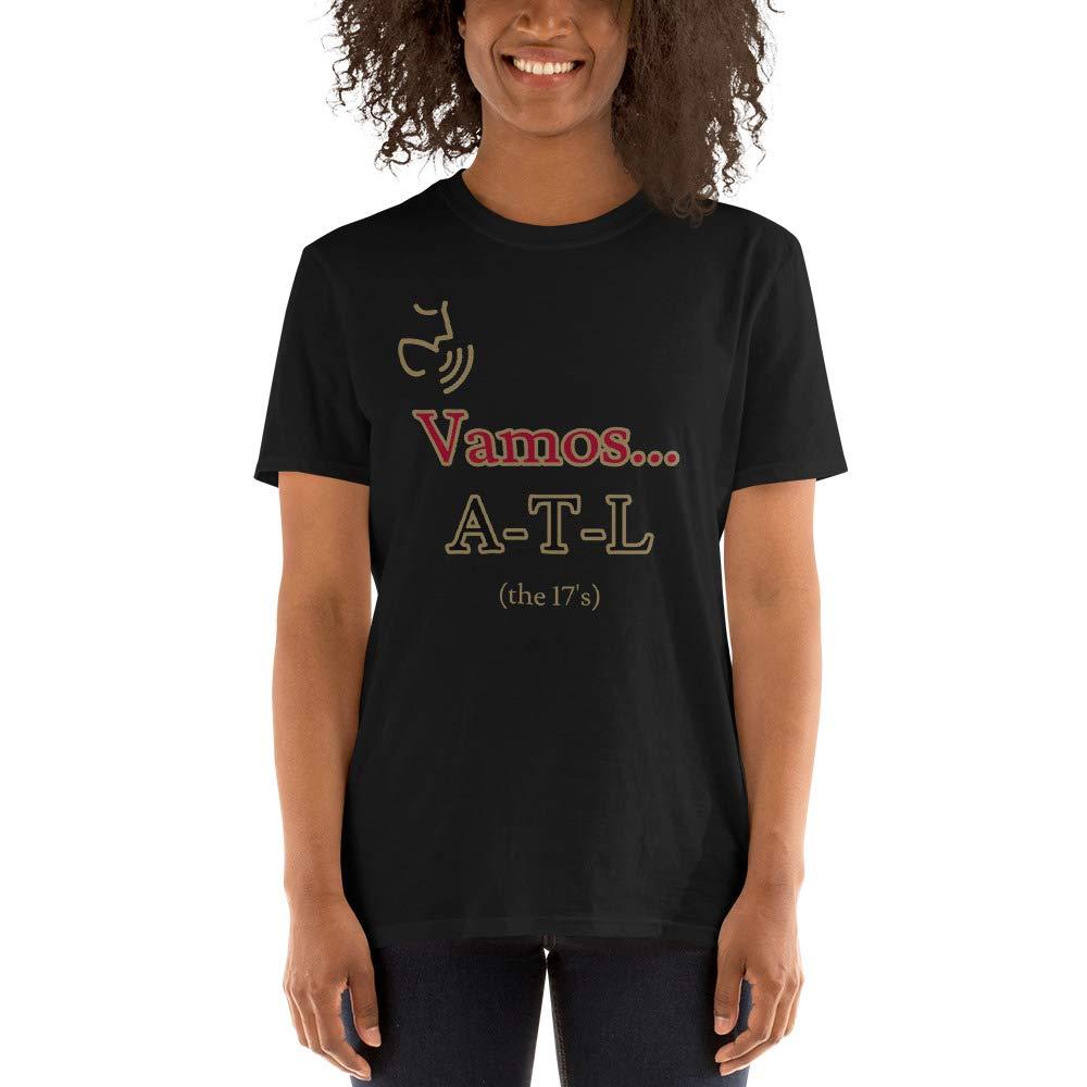 Atlanta United Fan Gear Original Design Vamos ATL Fan Chant Short-Sleeve Unisex T-Shirt