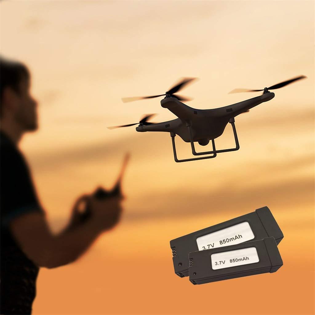 TwoCC Accesorios Drone,Batería de 3.7v 850mah para Eachine E58 ...