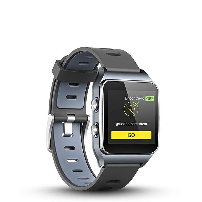 LUKAWIT GPS Reloj Inteligente Fitness Tracker con Monitor de Frecuencia Cardíaca y Sueño, 17 Modos Deportivos, Podómetro Pulsera Hombre Mujer Niños ...