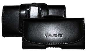 Case feudalesconstellation Viva para Sony Xperia E1 en negro con pasador para el cinturón y Clip de piel de PU-cuero