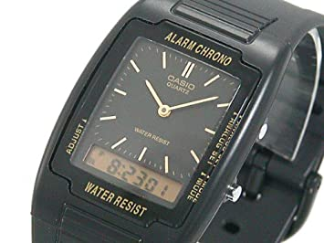 4b7a64f63fd Amazon.com  Casio Men s Analog-Digital Dual Time Watch
