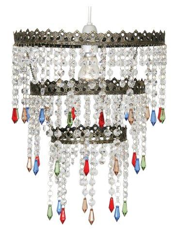 Oaks Lighting Ekon Glass Beaded Pendant