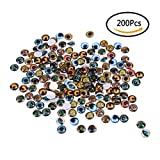 Mixed Color Lucky Evil Eye Glass Flatback Scrapbooking - Best Reviews Guide