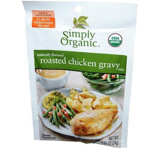 Simply Organic, Roasted Chicken Gravy Seasoning Mix, Organic, Gluten-Free by Simply Organic