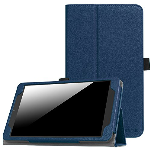 Fintie Alcatel A30 Tablet 8 Case, for T-Mobile Alcatel A30 8-inch Tablet Model 9024W 2017 Released - Premium PU Leather Folio Stand Cover, Navy