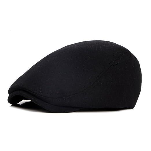 7bbaba8d ZLS Classic Retro Unisex Hat Golf Lvy Driving Beret Cap Newsboy Hats For  Men (black) at Amazon Men's Clothing store: