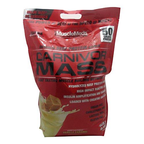 Muscle Meds Carnivor Mass - Vanilla Caramel - 10 lbs