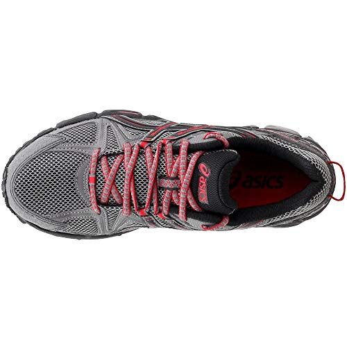 ASICS Men's Gel-Kahana 8 Trail Runner Shark/Black/True Red 7 M US by ASICS (Image #5)