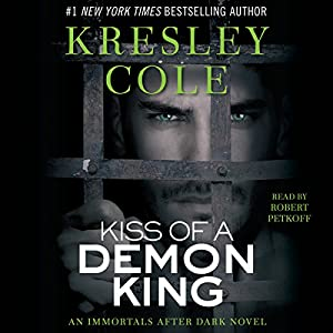 Kiss of a Demon King: Immortals After Dark, Book 7 Audiobook