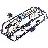 97-03 F250 F350 F450 TURBO DIESEL GLOW PLUG SET GASKETS HARNESS PLUGS RELAY 7.3L