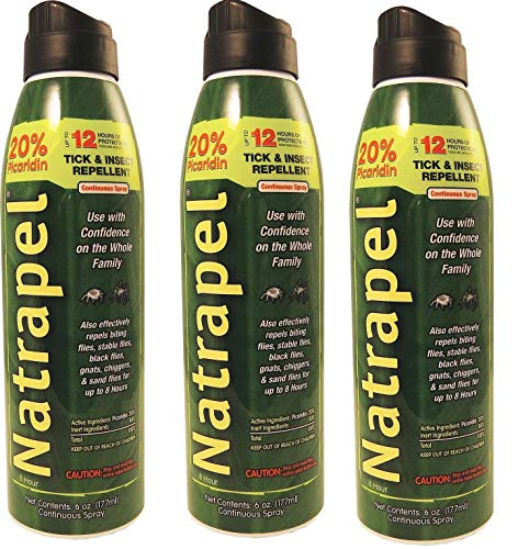 (Natrapel 8 Hour Insect Repellent 6oz Spray (3 Pack) )