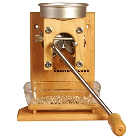 Eschenfelder Grano de Cereales, Modelo de Pared con Embudo de ...