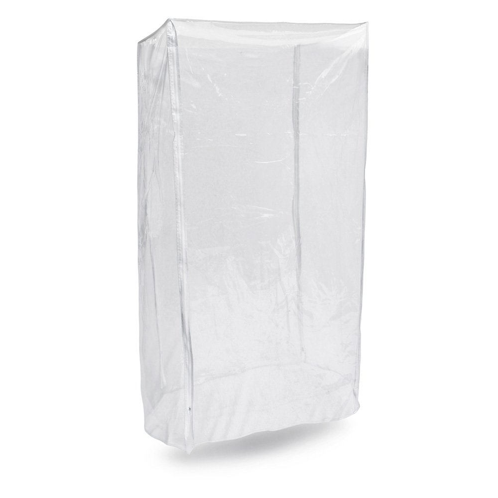 New Star Foodservice 36565 Commercial Sheet Pan/Bun Pan Rack Cover, PVC, 20-Tier, 28 x 23 x 61 inch, Clear