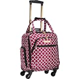 Aria Broadway 15'' Spinner Tote Cranberry
