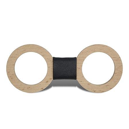 Corbata de lazo de madera para hombre Ahueque hacia fuera dinero ...