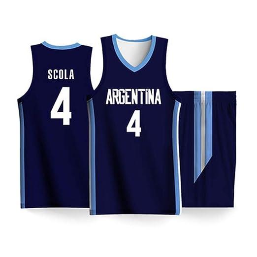 HS-MANWEI Camiseta De La Copa Mundial De Baloncesto ...